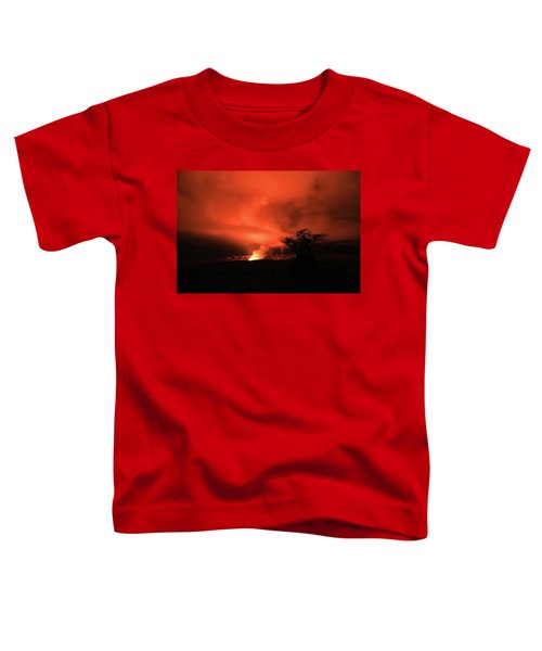 Volcano Under The Mist Toddler T-Shirt