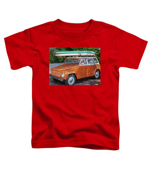 Volkswagen And Surfboards Toddler T-Shirt