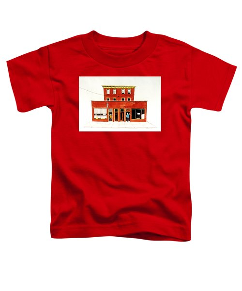 Washington Street Barbers Toddler T-Shirt