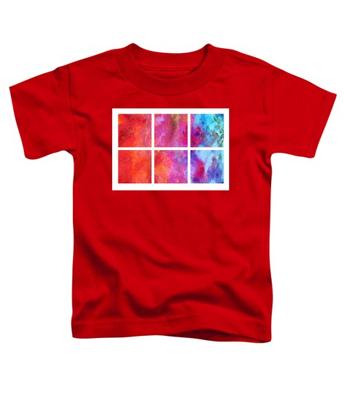Water And Fire Abstract Toddler T-Shirt