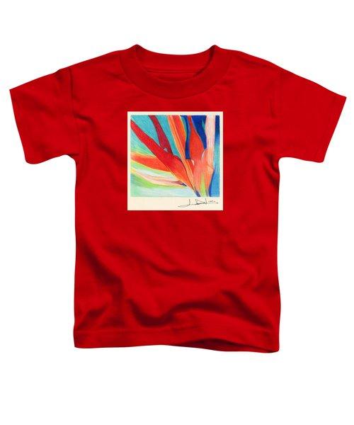 Water Grass Blue Toddler T-Shirt