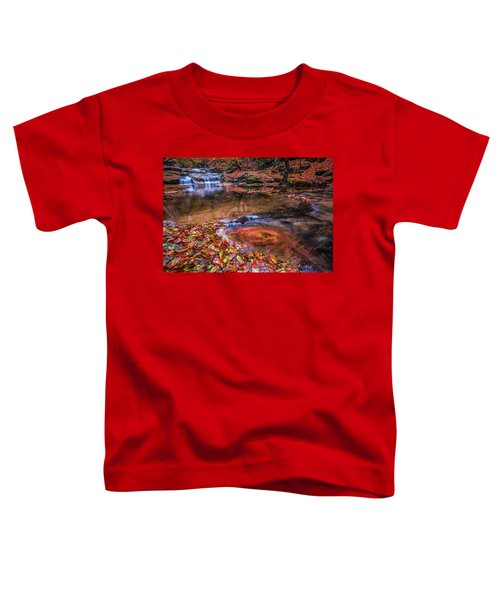Waterfall-4 Toddler T-Shirt