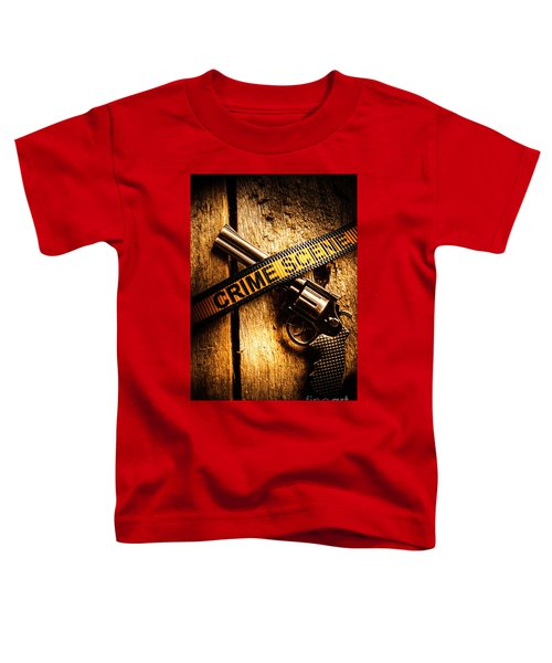 Weapon Forensics Toddler T-Shirt