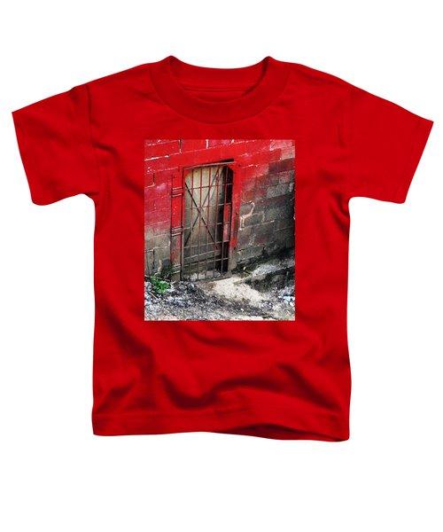 What Lies Behind The Door Toddler T-Shirt