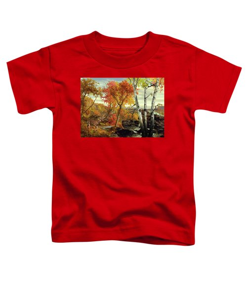 White-tailed Deer In The Poconos Toddler T-Shirt