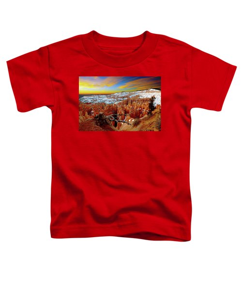 Winter Sunrise At Bryce Toddler T-Shirt