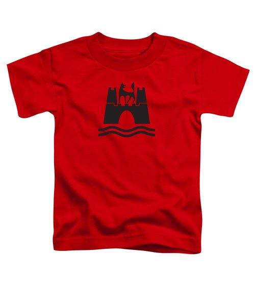 Wolfburg Logo Toddler T-Shirt by Ed Jackson