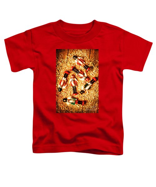 Wooden Toy Soldiers Toddler T-Shirt