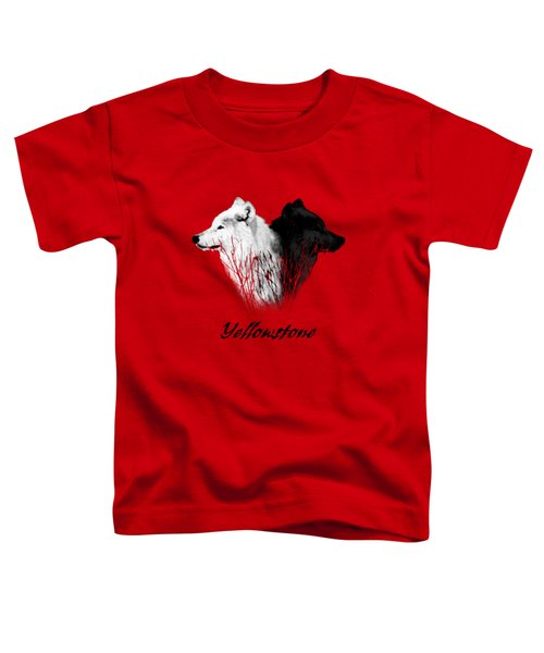 Yellowstone Wolves T-shirt Toddler T-Shirt