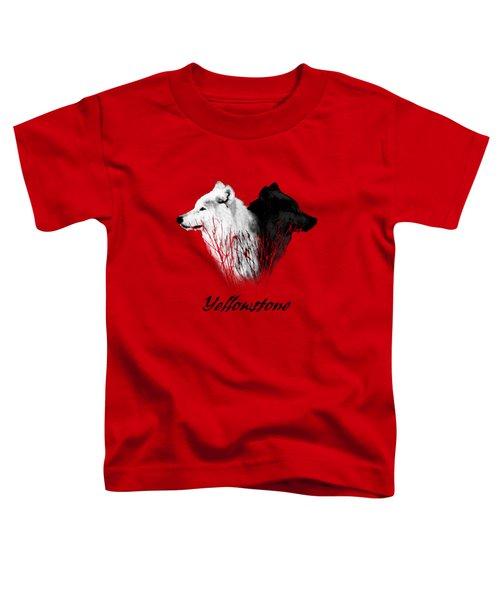 Yellowstone Wolves T-shirt Toddler T-Shirt