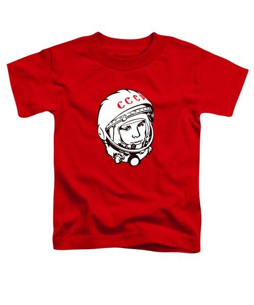 Yuri Gagarin Cccp Toddler T-Shirt