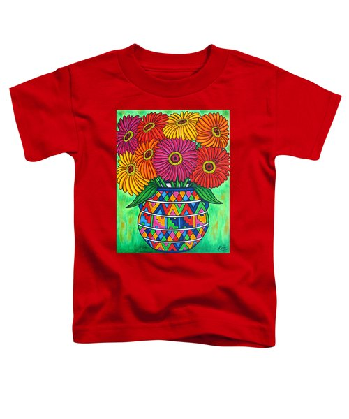 Zinnia Fiesta Toddler T-Shirt