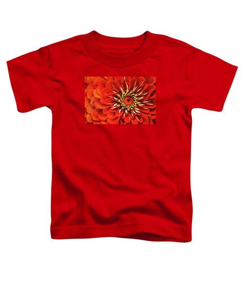 Zinnia-macro Toddler T-Shirt
