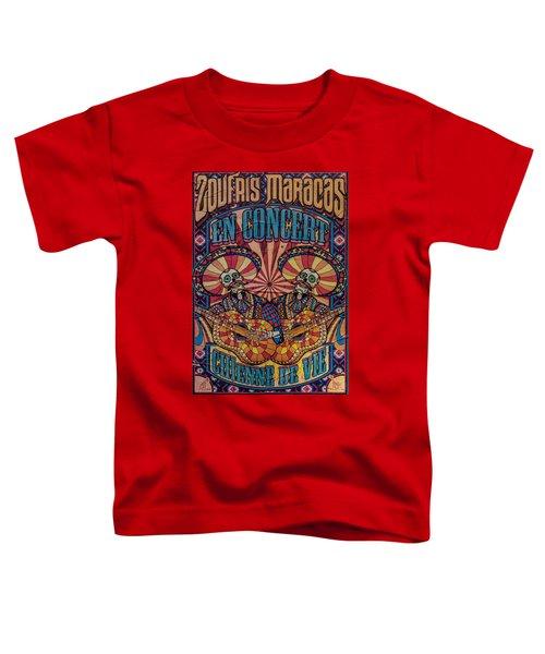 Zoufris Maracas Poster Toddler T-Shirt