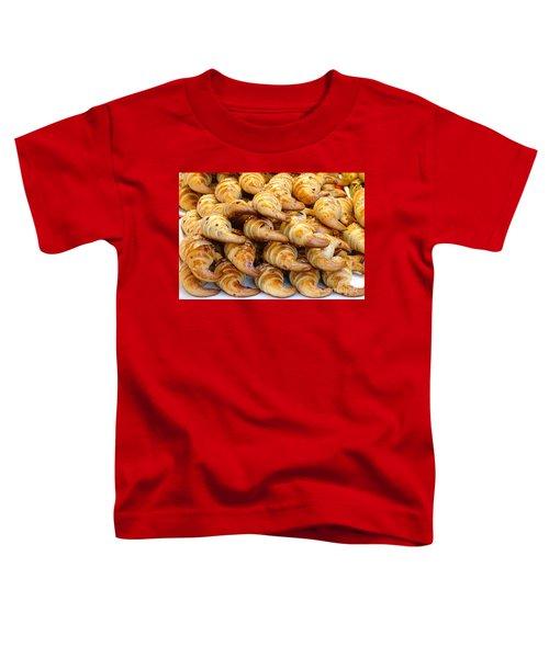 Freshly Baked Croissants Toddler T-Shirt
