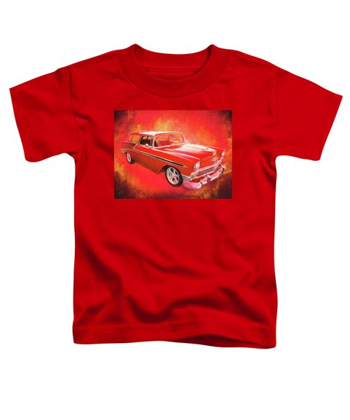 1956 Chevy Nomad Toddler T-Shirt