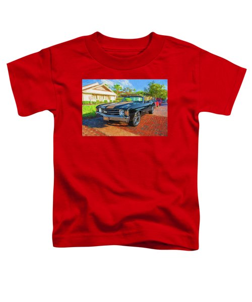 1972 Chevy Chevelle 454 Ss 100 Toddler T-Shirt