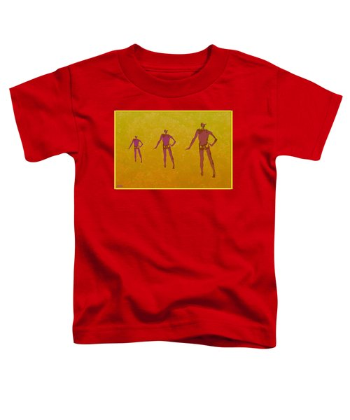 Male In Perspective Toddler T-Shirt