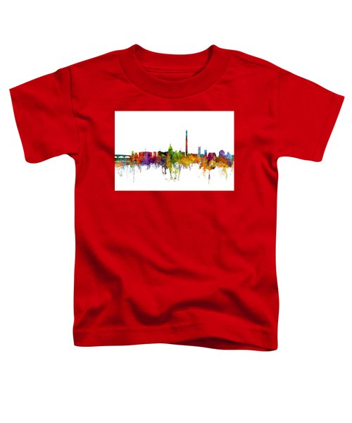 Washington Dc Skyline Toddler T-Shirt