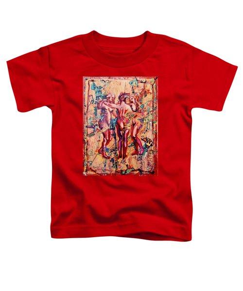 3 Virgins - Rubens, Airbrush 1990 Toddler T-Shirt