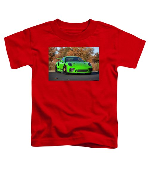 #porsche 911 #gt3rs #print Toddler T-Shirt