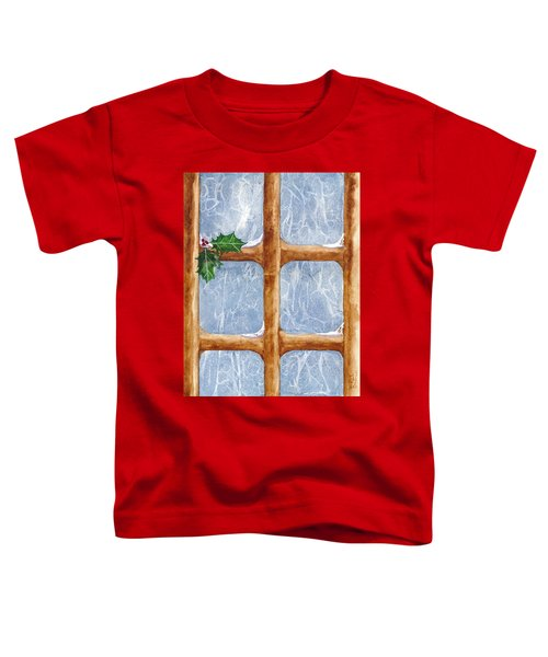 A Visit From Jack Frost Toddler T-Shirt