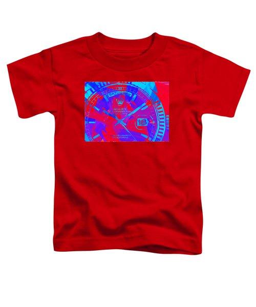 Abstract Rolex Digital Paint 7 Toddler T-Shirt
