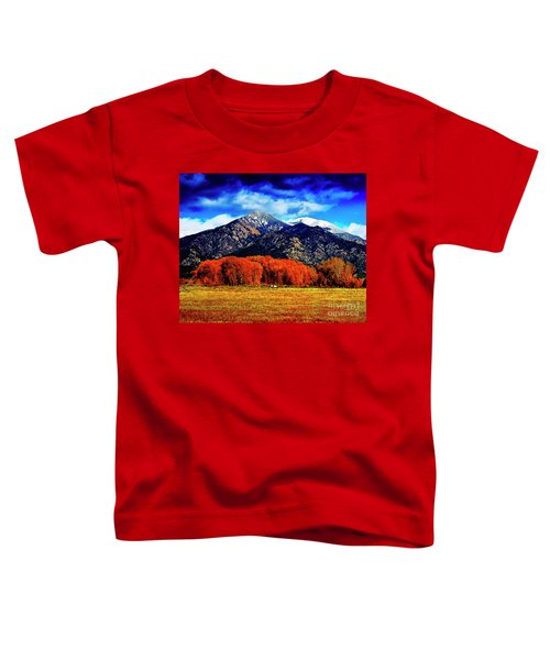 Autumn In Taos New Mexico Toddler T-Shirt