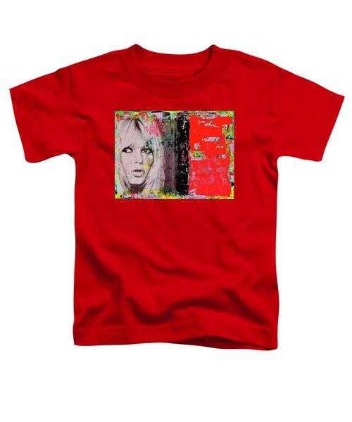Brigitte Bardot Toddler T-Shirt