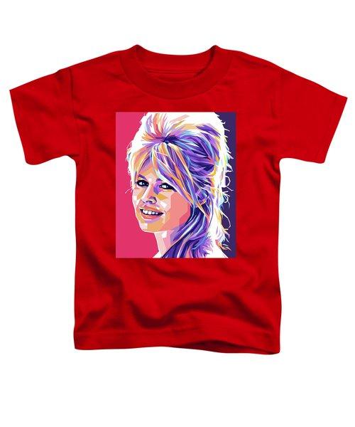 Brigitte Bardot Pop Art Toddler T-Shirt