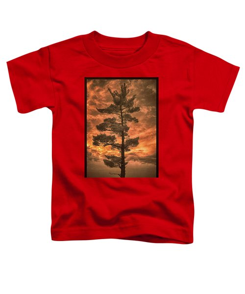 Burning Sky Toddler T-Shirt