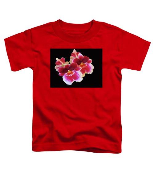 Canvas Violets Toddler T-Shirt