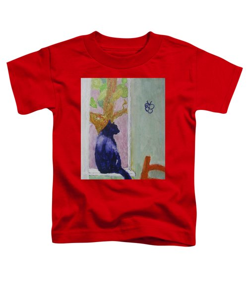 cat named Seamus Toddler T-Shirt