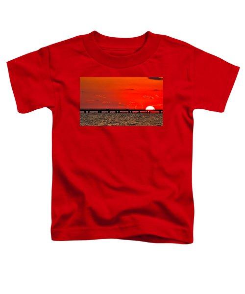 Causeway Sunset Toddler T-Shirt