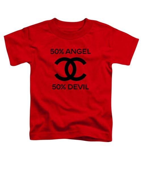 Chanel Angel Or Devil-5 Toddler T-Shirt