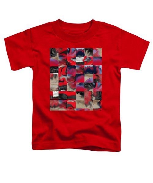 Coupe Rouge Toddler T-Shirt