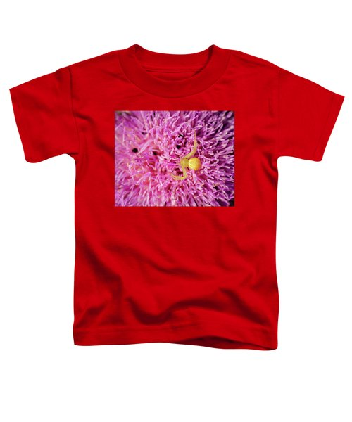 Crab Spider Toddler T-Shirt