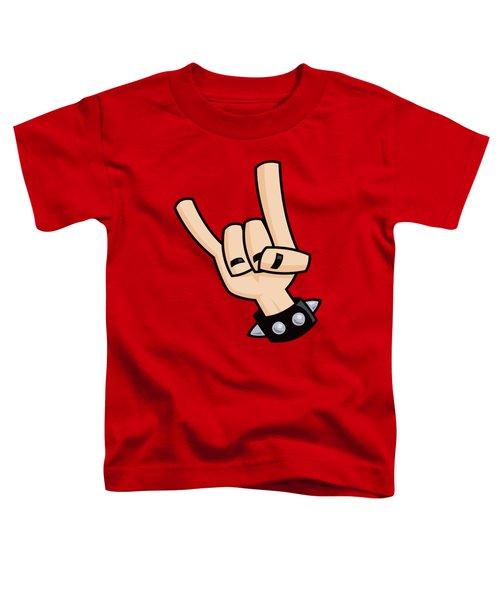 Devil Horns Toddler T-Shirt