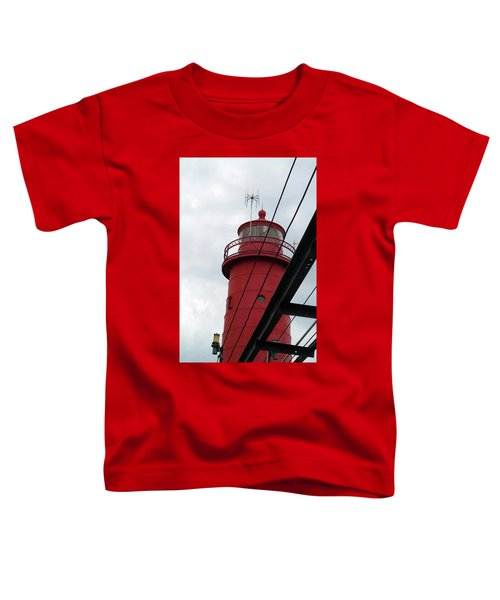 Dressed In Red Toddler T-Shirt