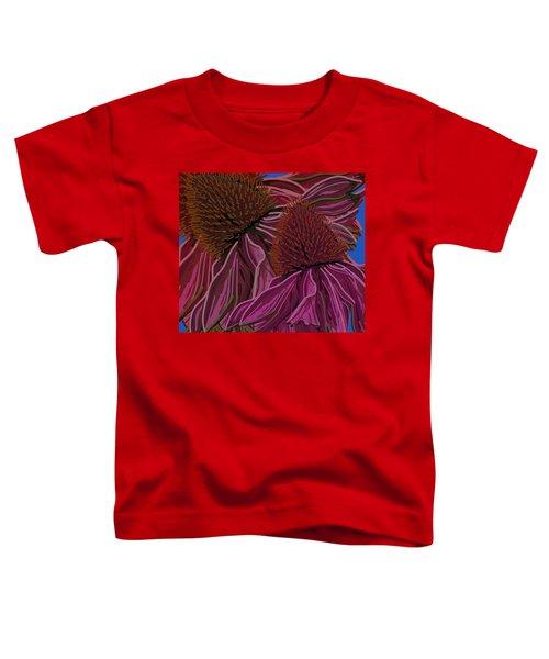 Echinacea Flower Blues Toddler T-Shirt