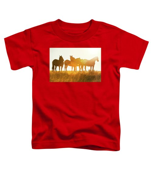 Equine Glow Toddler T-Shirt