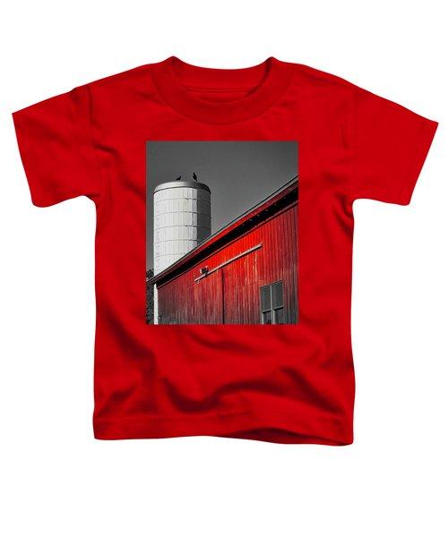 Fading Barn Toddler T-Shirt