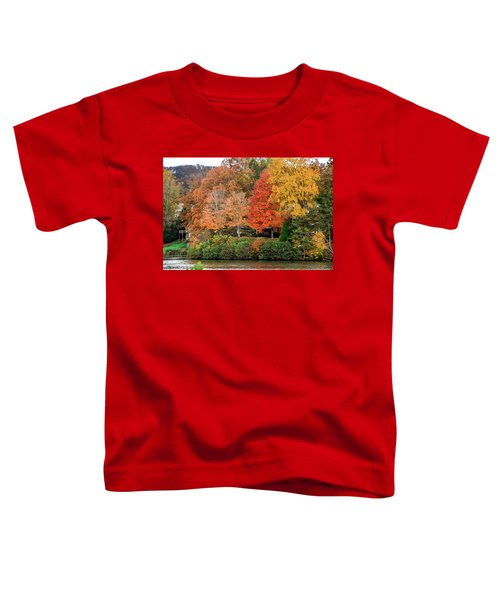 Fall At The Lake Toddler T-Shirt