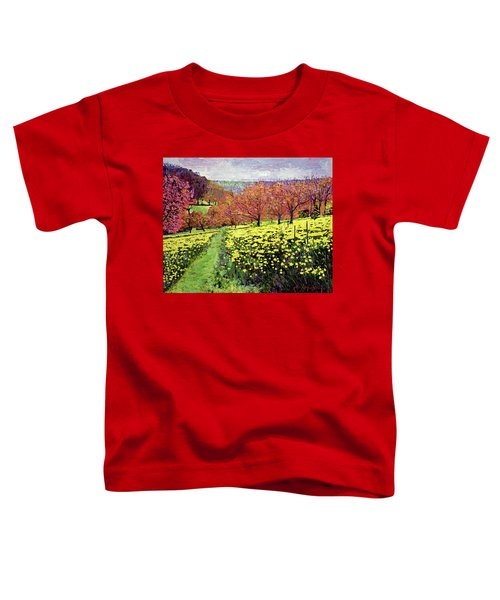 Fields Of Golden Daffodils Toddler T-Shirt