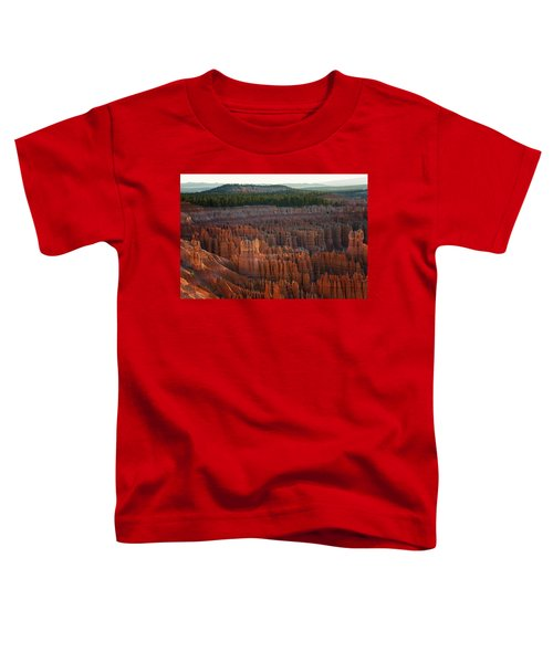 First Light On The Hoodoo Inspiration Point Bryce Canyon National Park Toddler T-Shirt