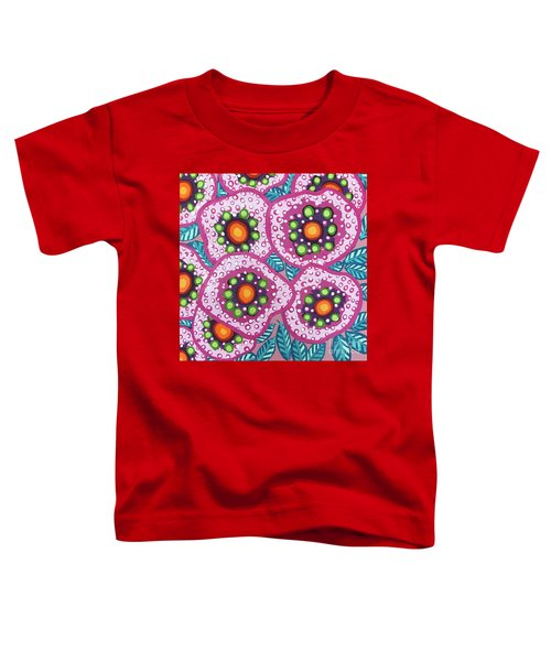Floral Whimsy 10 Toddler T-Shirt