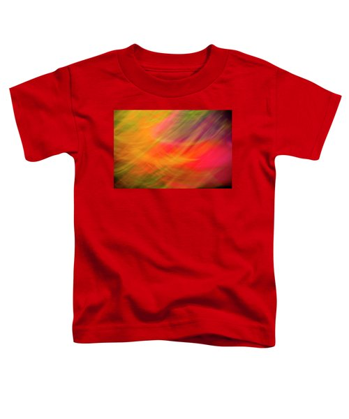 Flowers In Abstract Toddler T-Shirt