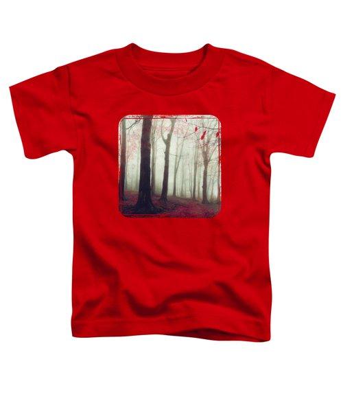 Forest In December Mist Toddler T-Shirt