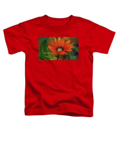 Garden Flower Impressionist Toddler T-Shirt