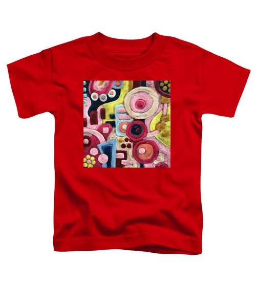 Geometric Abstract 1 Toddler T-Shirt